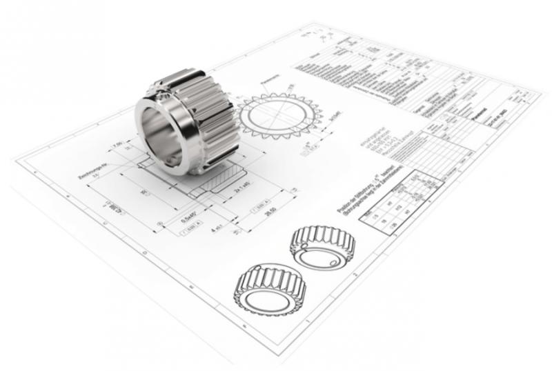 3D CAD дизайн позволяет манипулировать, извлекать 2D и отображать надежные технические данные в реалистичную модель.