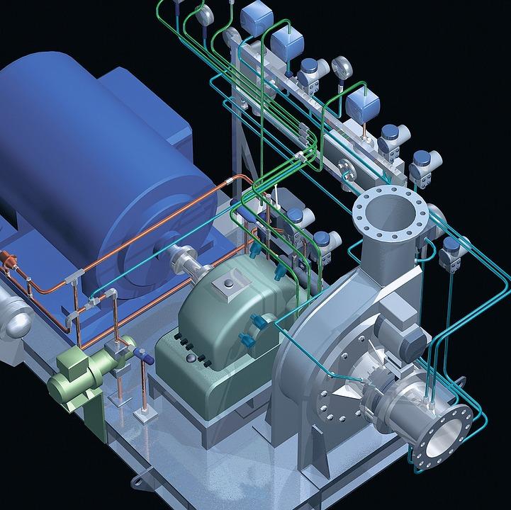 Основное различие между 3D-моделированием и 2D-проектированием заключается в том, что механическое оборудование моделируется, а не рисуется.