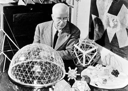 Почти слепой от рождения, он развил тактильное чувство геометрических форм, в частности треугольников и тетраэдров, что произвело на него впечатление наиболее устойчивых форм в природе.