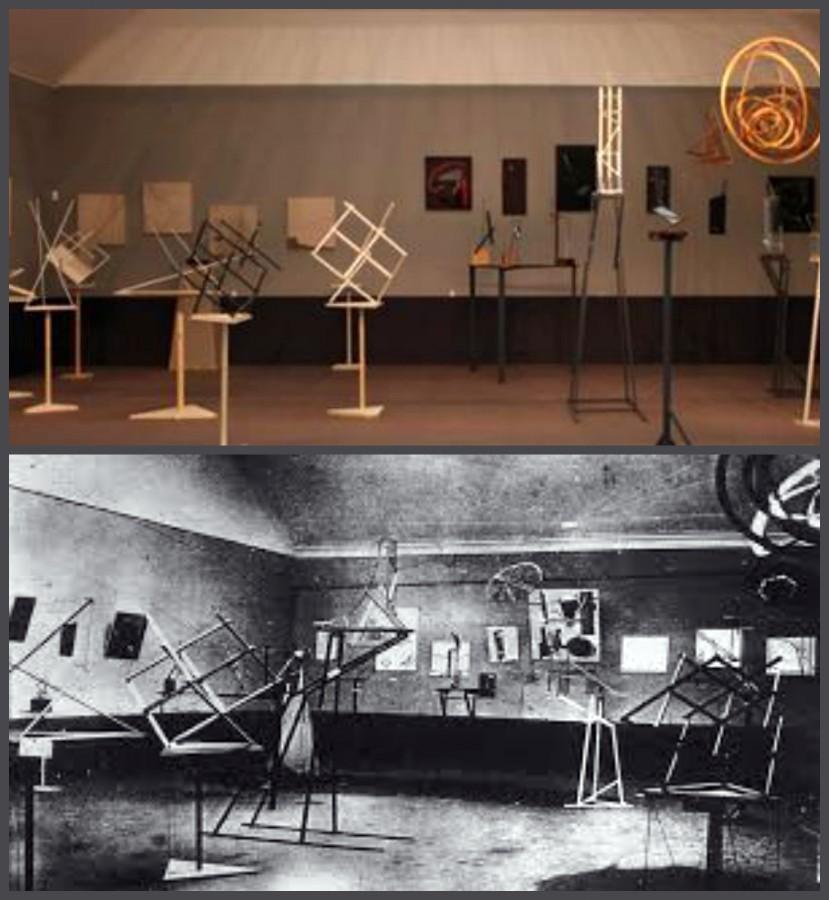 Вячеслав Колейчук полностью реконструировал выставку Карла Вольдемаровича в Третьяковской галерее по двум сохранившимся фотографиям.
