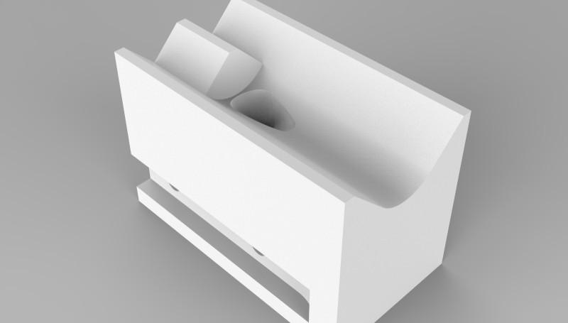 Насадка для сварки внешнего угла, 8 мм. Назначение: для экструдеров FUSION и WELDPLAST S2