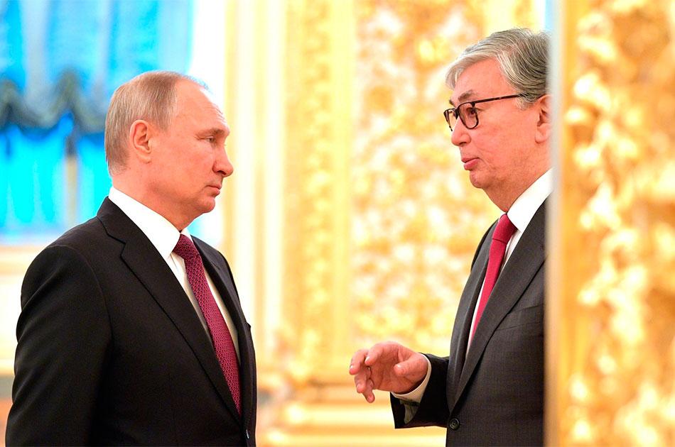 Первый зарубежный визит казахского президента