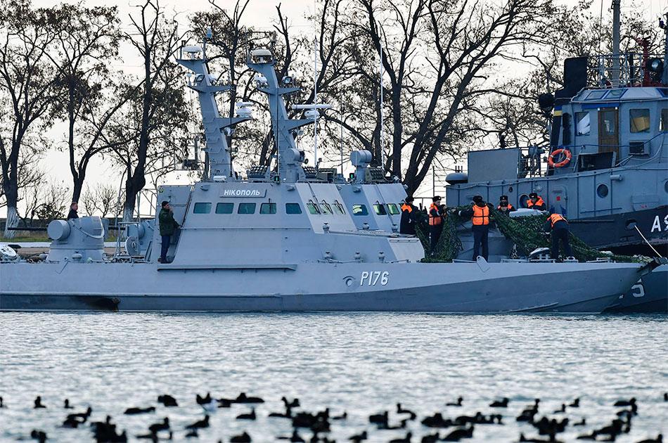 Украинские корабли в Керчи: а ну-ка, отними
