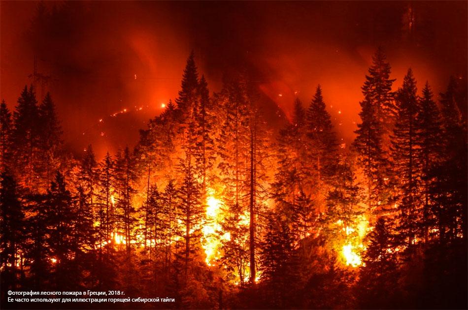 О пожарах в Сибири