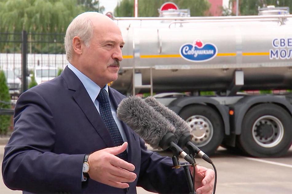 А вы знаете, что без Белоруссии мы умрем с голоду?