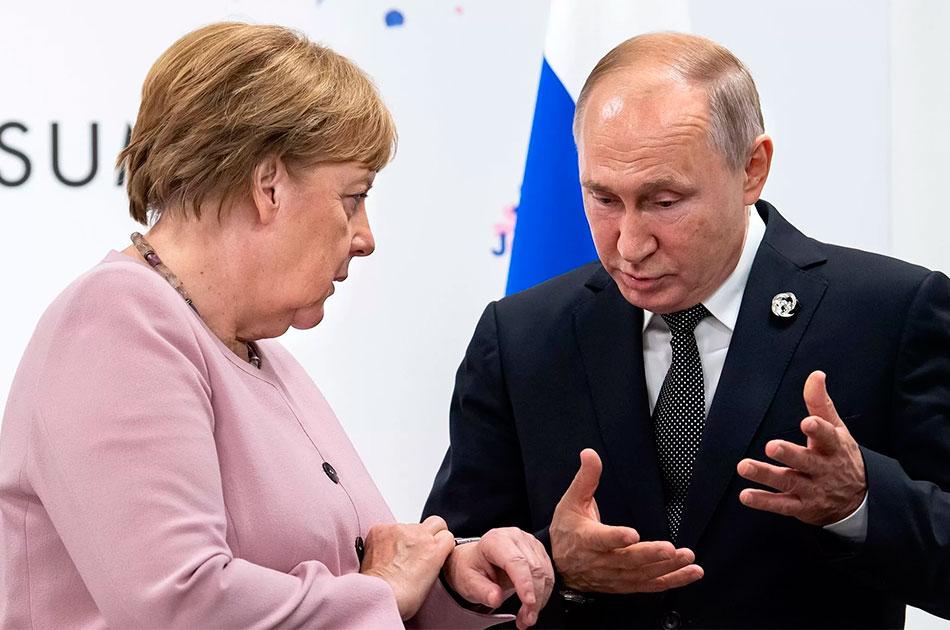 «Новичок» для канцлера Германии