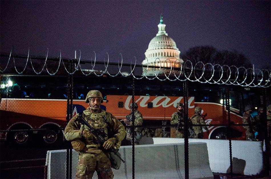 ФБР ожидает мятежа Нацгвардии на инаугурации