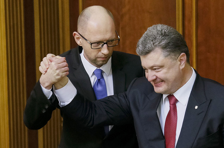 Украина на заклание