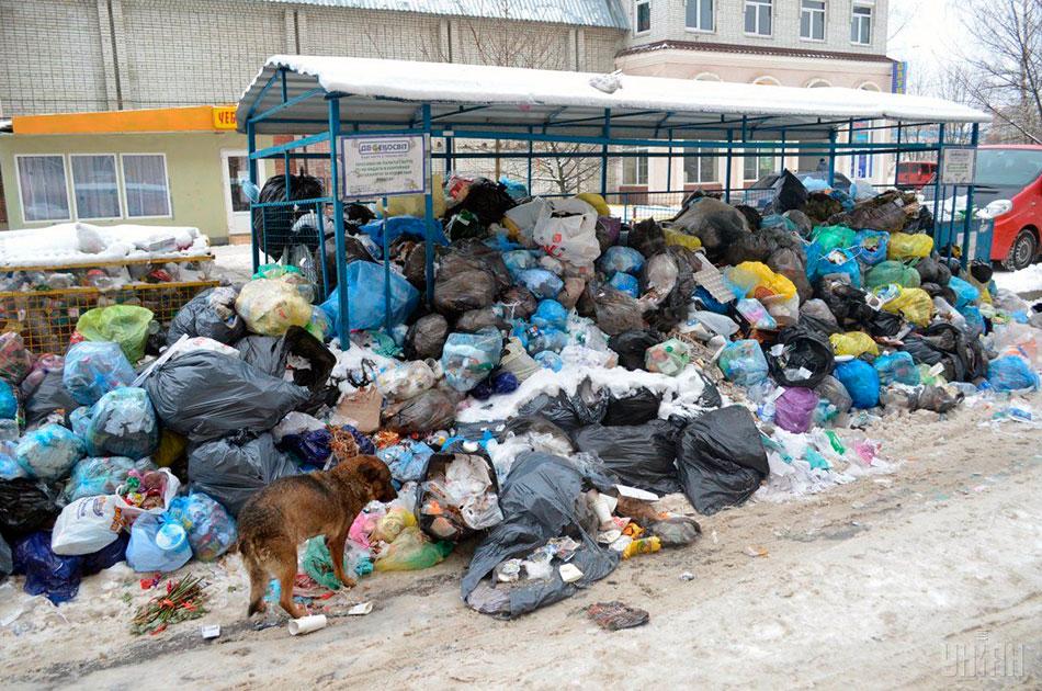 Им просто надоело жить в говне и теперь живут в мусоре из Львова
