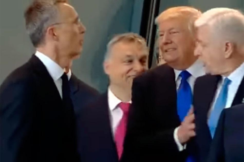 Пикантный момент в речи Трампа