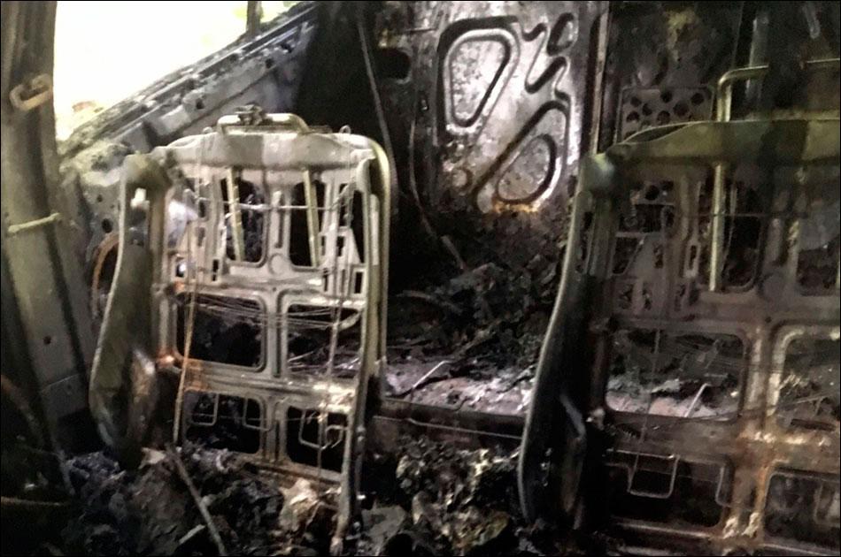 Автомобиль обозревателя «Новой» Юлии Латыниной сожгли в Переделкине