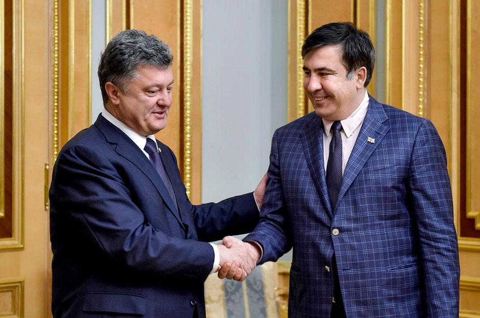 Украинцы заслужили Саакашвили