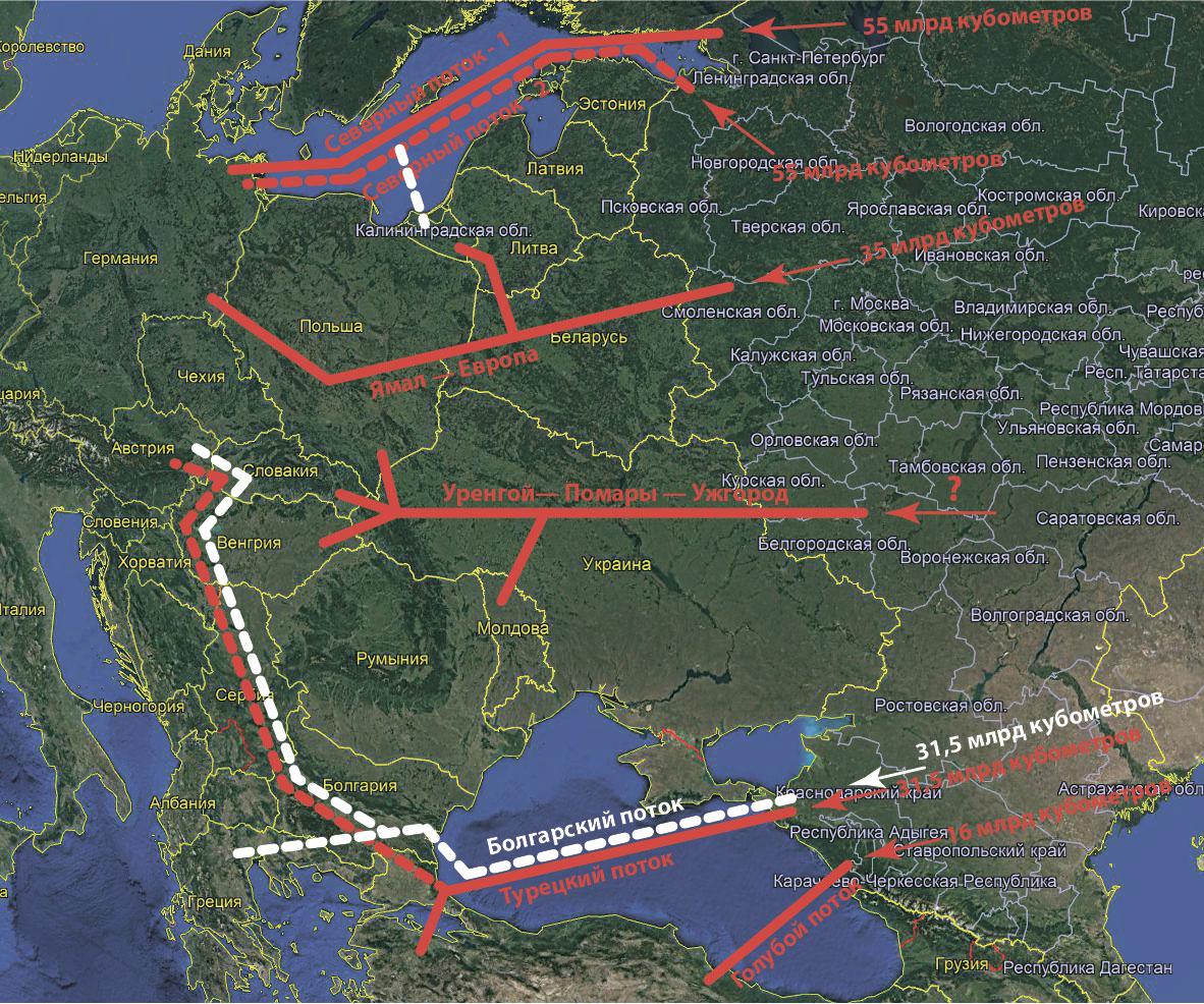 Турецкий поток пойдет на север