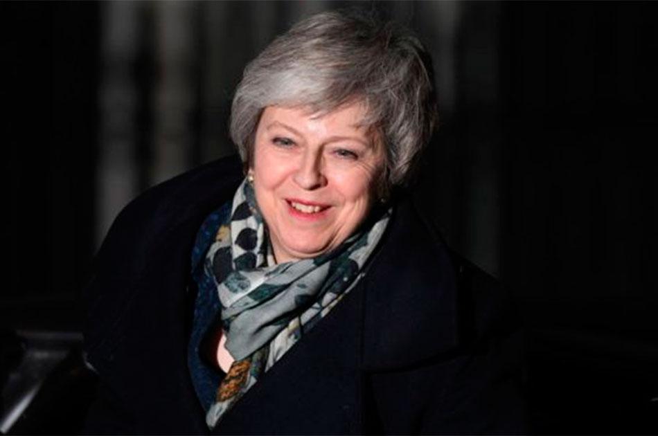 Мем о премьер-министре Великобритании