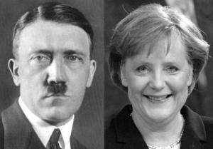 HitlerMerkel