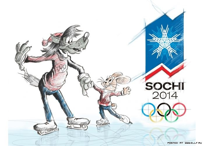 Талисманы олимпийский игр в сочи