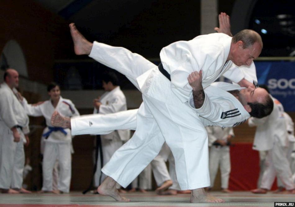 Путин спорт 2
