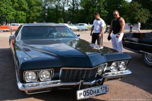 Выставка американских авто Muscle car show