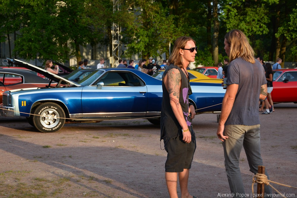 Muscle car show