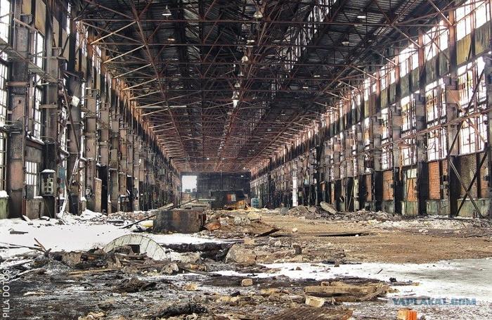 Заброшенности: Липецкий Тракторный Завод   Пикабу   455x700