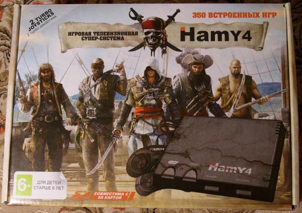 Hamy4 NES & Sega - Долой картриджи! Да здравствует SD карта!
