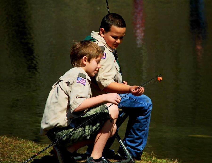 Boys fishing nude Gay