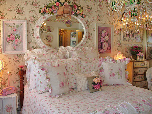 Sweet romance room peachcandies livejournal - Decoracion shabby chic dormitorios ...