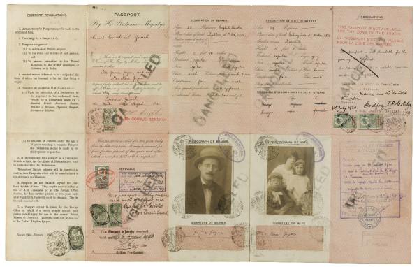 JAMES-JOYCE-WARTIME-FAMILY-PASSPORT