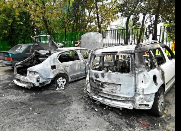 сгорели машины гурьянова 79