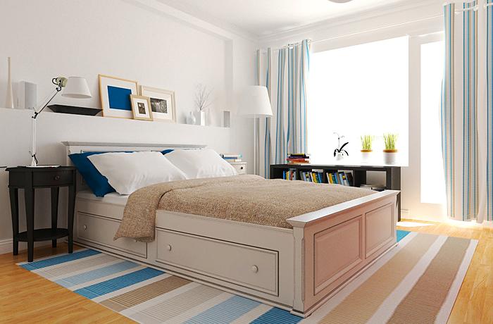скандинавский стиль в интерьере, белый цвет в интерьере, спальня в скандинавском стиле, кухня в скандинавском стиле, интерьер спальни 2012, дизайн интерьера, дизайнер интерьера, дизайнер интерьера Антон Печёный