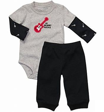 Carter's® Baby Bodysuit, Boys Pant Set