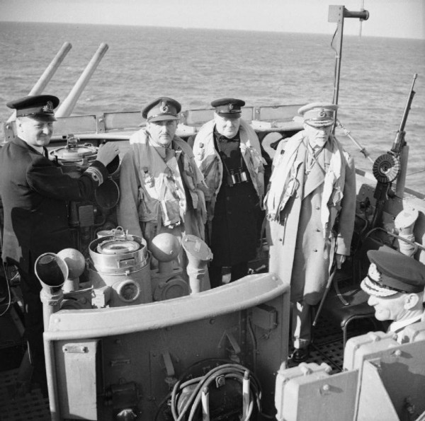 Smuts Crossing to France, D-Day