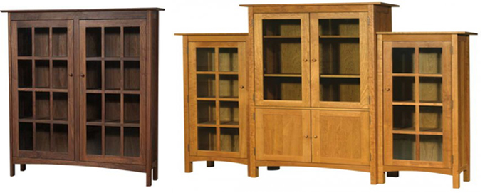 solid-wood-bookcases