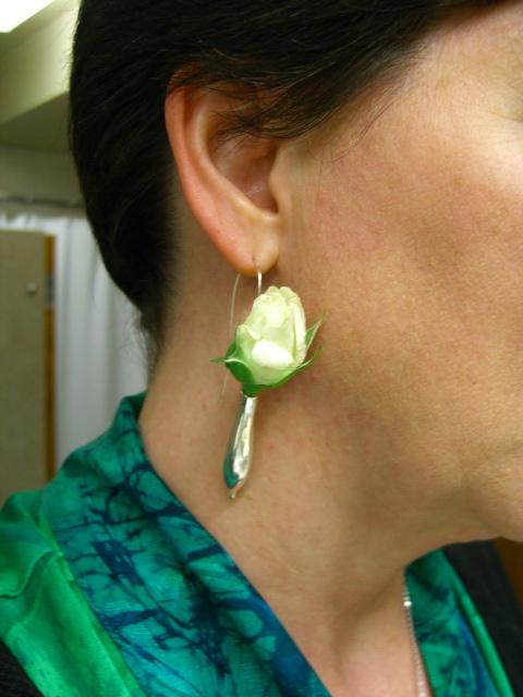 Fleurings - earring