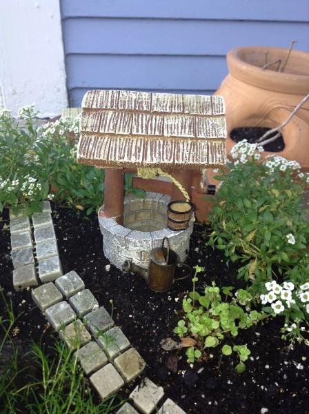 Fairy Garden - well
