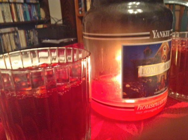 Christmas Eve with Pomagranate Punch