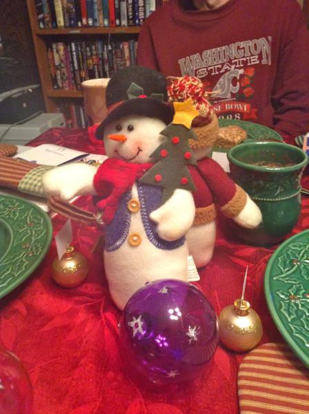 Twelfth night snowmen