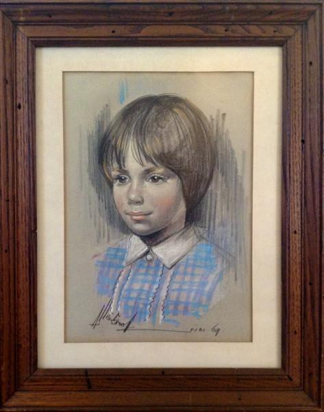 Peg at age 9