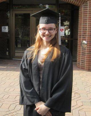 Delia's High School graduation