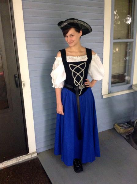 Fiona pirate Insouciant Ren Fest 2014