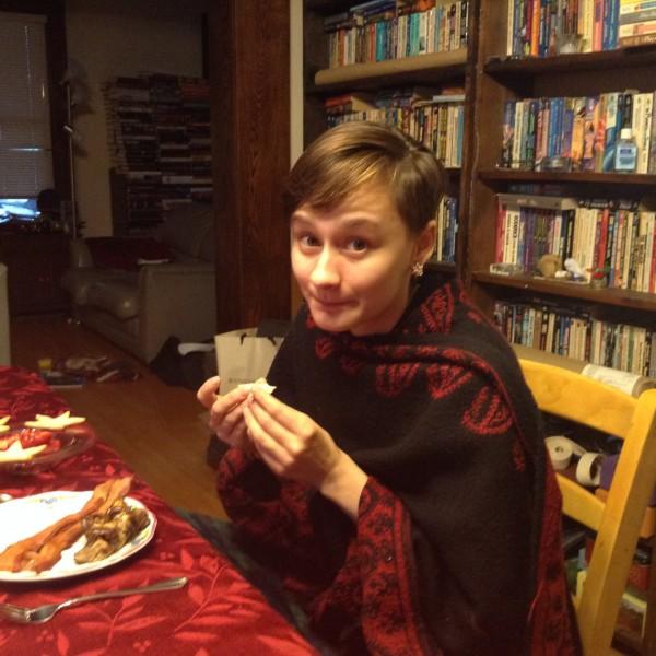 Fiona eats