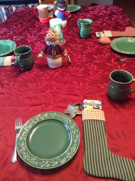 Twelfth night table