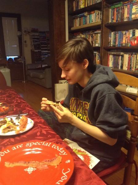 Fiona pastry star Christmas breakfast 2015