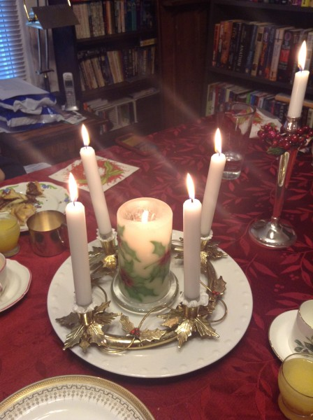 Christmas breakfast 2015