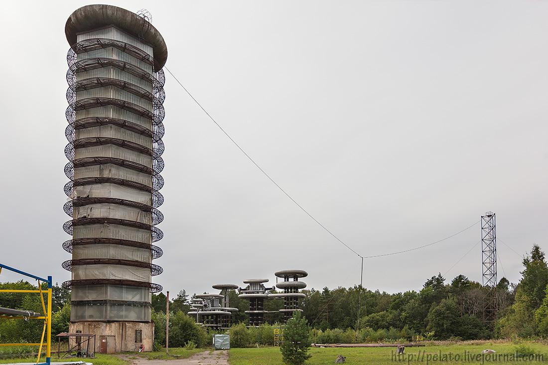 башня ГИН Маркс Аркадьев ВНИЦ ВЭИ Тесла Истра