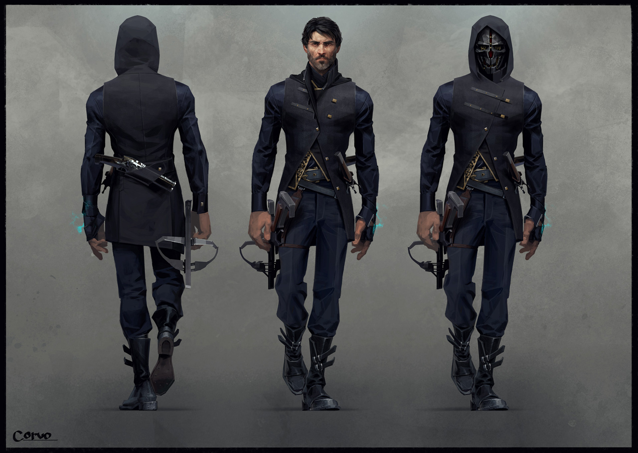Corvo-outfit