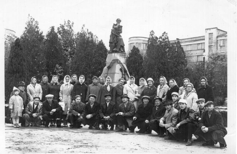 Пятигорск. Памятник М. Ю. Лермонтову. 1965.