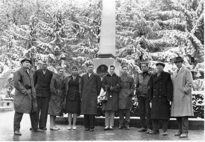 Пятигорск. Место дуэли М. Ю. Лермонтова. 1965.
