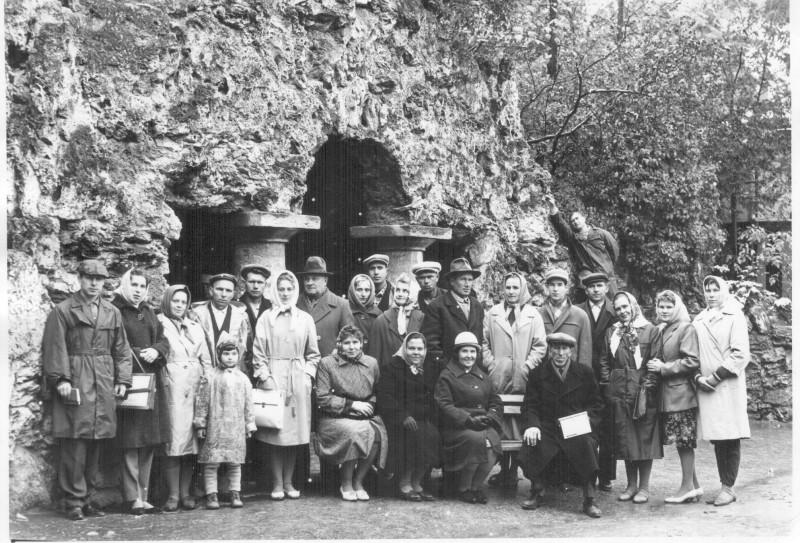 Пятигорск. Грот Дианы. 1965.