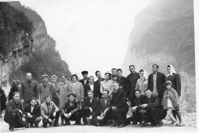 Кавказ. Черекское ущелье. 1965.